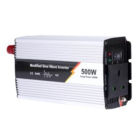 500W Inverter 12V Dc To 220V Ac Modified Sine Wave