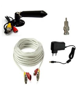 Diy Bullet Camera Kit With 10m Cable Plugs Directly Into A Tv