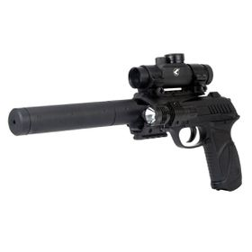 Gamo Pt85 Blowback Tactical Kit Co2 Powered Air Pistol