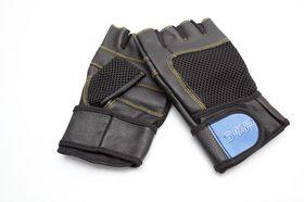 Star Pro Leather Gym Glove