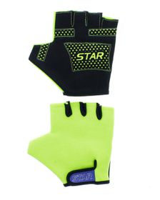 Star Cycle Glove - Green