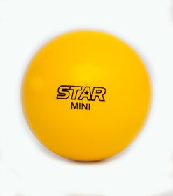 Star Hockey Ball Mini - Yellow