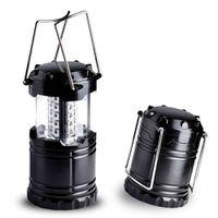 Poratable LED Lantern for Outdoors - Black