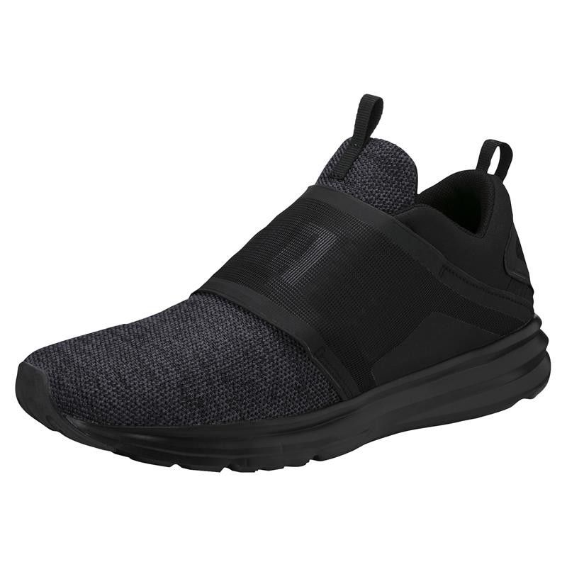 Men's Puma Enzo Strap Knit Running Shoes