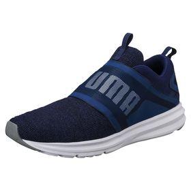 Men's Puma Enzo Strap Knit Running Shoes