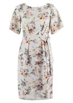 Closet London - Multi Floral Kimono Dress