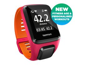TomTom Runner 3 Small - Pink/Orange