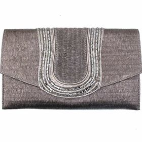 Blackcherry Clutch Pewter Bag - Medium