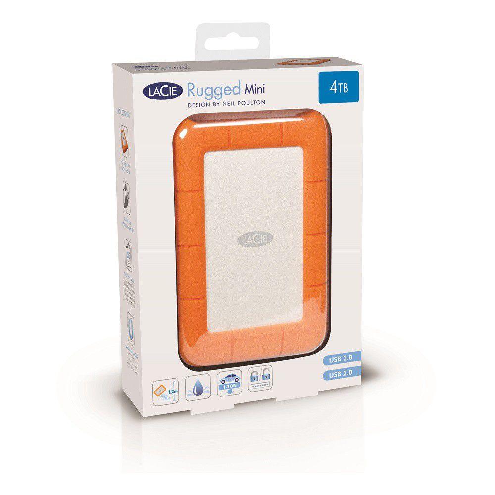 Lacie Rugged Mini Usb 3 0 Drive 4tb