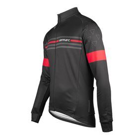 Vermarc  Cycling Jacket in Black and Red