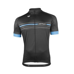 Vermarc  Cycling Jersey Blue in Black and Blue