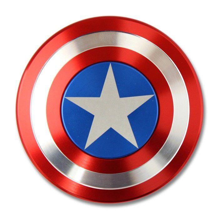 Attractive Superhero Shield Fidget Spinner ...