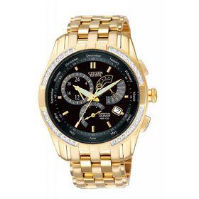 Citizen Mens Perpetual Calendar Diamond Watch - BL8043-51E