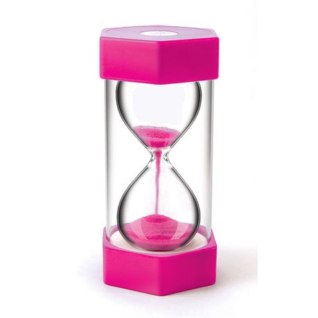 teachers first choice sand timer giant 2 minutes pink buy online