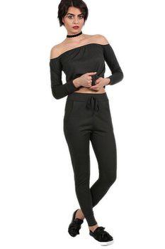 Pilot - Pocket Detail Loungwear Joggers in Black