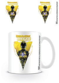 Power Rangers Movie - Yellow Ranger Mug (Parallel Imports)