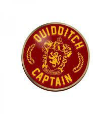 Harry Potter: Quidditch Captain Enamel Pin Badge (Parallel Import)