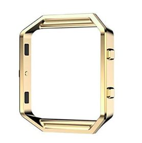 Replacement Stainless Steel Metal Frame for FitBit Blaze - Gold