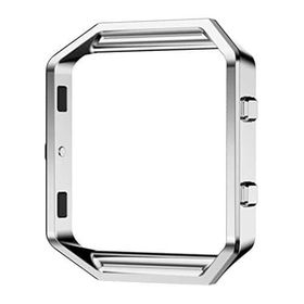 Replacement Stainless Steel Metal Frame for FitBit Blaze - Silver