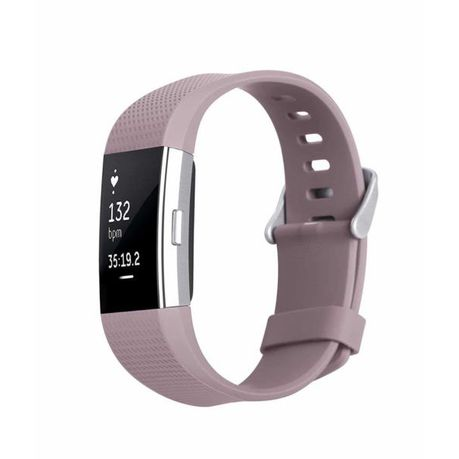 Classic Replacement Band for FitBit Charge 2 - Lavender (Size: Small)