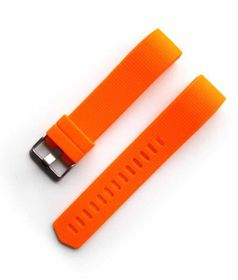 Classic Replacement Band for FitBit Charge 2- Orange (Size: Small)