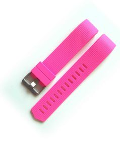 Classic Replacement Band for FitBit Charge 2- Pink (Size: Med/Large)