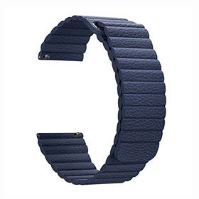 Leather Loop Band for Samsung S3 Frontier & Classic Watch - Blue