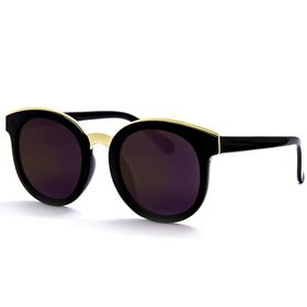 Cazabella Cats Eye Sunglasses - Black with Gold