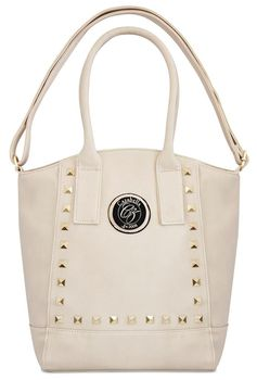 Cazabella Large Handbag - Beige