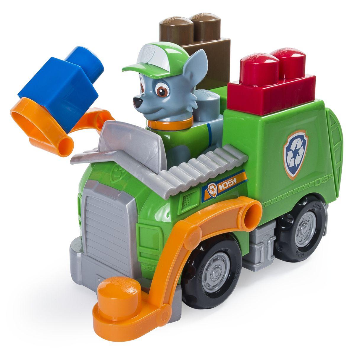 paw patrol ionix jr basic vehicles rocky recycling truck buy