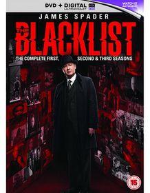 Blacklist Season 1-3 (DVD)