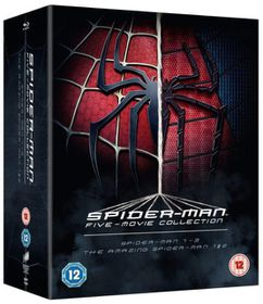 Spiderman 5 Movie Collection (Blu-ray)