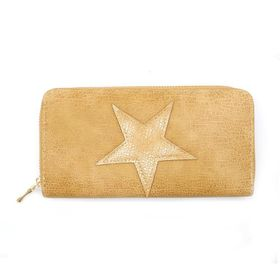 Lily & Rose Nude With Star Zip Through Purse