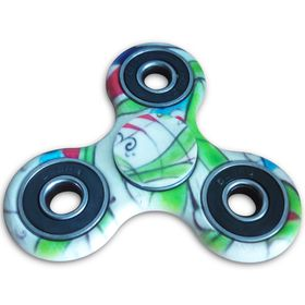 Fidget Spinner With Special Bearings For Quicker & Longer Spin - Multi Colour