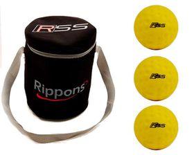 Rippons Practice Cricket Ball Combo - 6 Balls