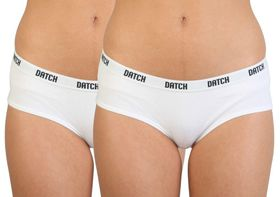 Datch French Knickers Bipack - White