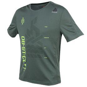 Men's Reebok OTR Short Sleeve Tech Running T-Shirt
