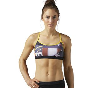 Women's Reebok CrossFit Strappy Star Bang Bra