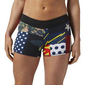 Women's Reebok CrossFit Bootie Star Bang Shorts