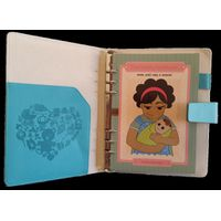 Nanny Notebook Refillable Organiser with Blue Cover