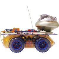 Elenco Snap Circuits Deluxe Snap Remote Controlled Rover Electronics Discovery Kit