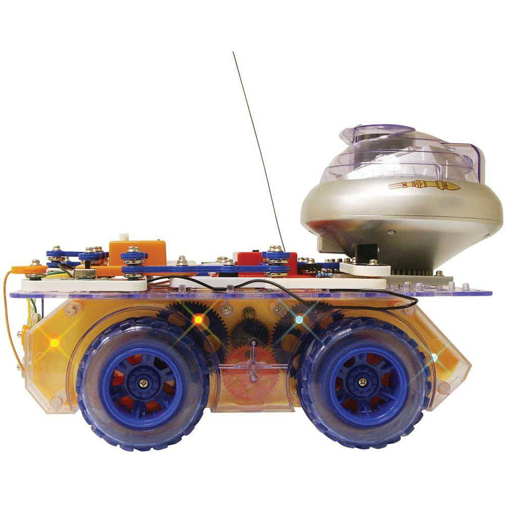 Elenco Snap Circuits Deluxe Remote Controlled Rover Electronics Electronic Set Discovery Kit