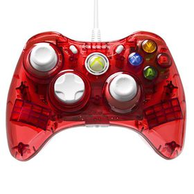 PDP Xbox 360 Controllers - Raspberry Red