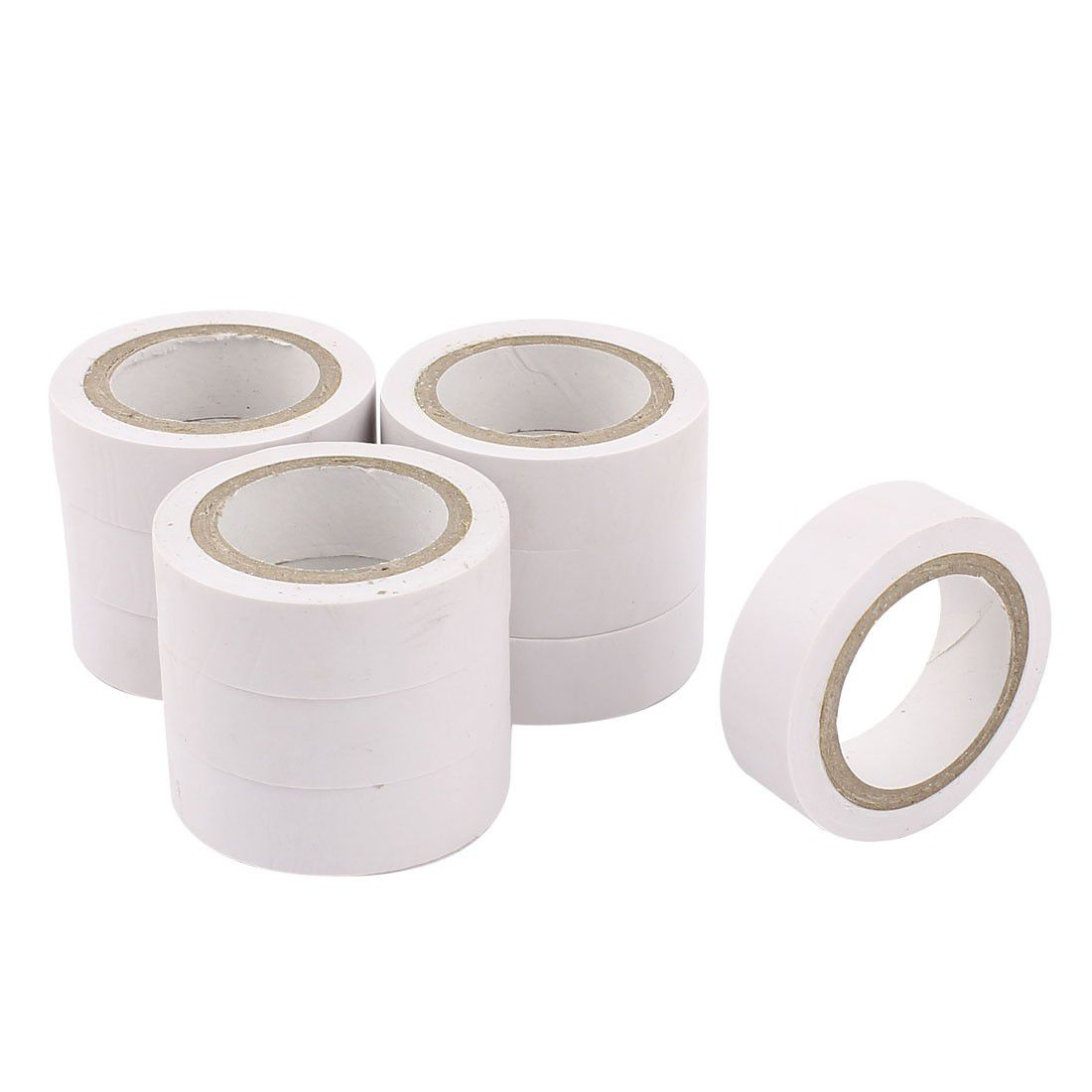 Sourcedirect Insulation Tape, Electrical Pvc Tape - White - 16mm X ...