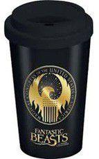 Fantastic Beasts - Macusa Logo Ceramic Travel Mug (Parallel Import)