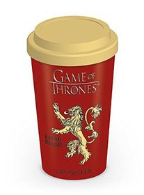 Game Of Thrones - Lannister Ceramic Travel Mug (Parallel Import)