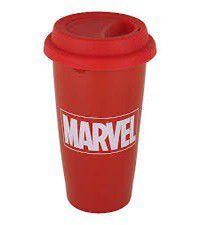 Marvel Comics - Logo Ceramic Travel Mug (Parallel Import)