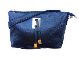 Vikson Black Leather Shoulder Bag