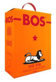 BOS Ice Tea - Peach Ice Tea - 3 Litre - Pack of 4