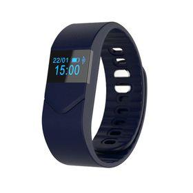 Forge M5 Health Sport Bracelet Blood Oxygen Blood Pressure Heart Rate Fitness Smart Band - Blue